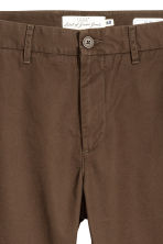 Cotton chinos - Dark brown - Men | H&M 3